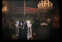 Thumbnail of Church of St. Nikola, interior -- Good Friday service