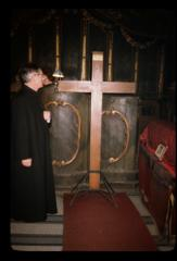 Thumbnail of Chapel in the Patriarchate, interior (Patriaršijska Kapela, interijer) -- Cross containing a fragment from the True Cross in Jerusalem