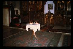 Thumbnail of Žiča - looking at the altar - wedding crowns