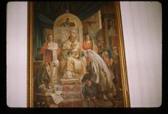 Thumbnail of St. Sava blessing the children - Theological school