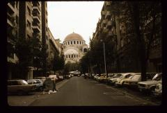 Thumbnail of Looking eastward - view of St. Sava Cathedral