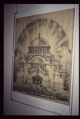Thumbnail of Architectural rendering of finished St. Sava Cathedral