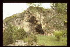 Thumbnail of Entrance to cave on grounds