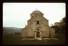 Thumbnail of Gradac Monastery - Foundation of former monastery in front