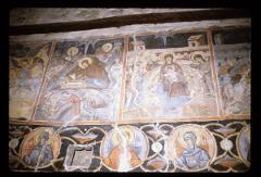 Thumbnail of Blagoveštenje (Annunciation) Monastery, church interior -- frescoes (17th century)