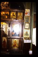 Thumbnail of Joanje Monastery, church interior -- ikonostas, left side
