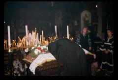 Thumbnail of Holy Trinity Church, interior (Crkva Svete Trojice, interijer) -- Good Friday service
