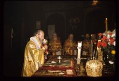 Thumbnail of Altar, Patriarch German officiating -- Easter services