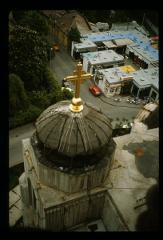 Thumbnail of View from St. Sava Cathedral toward the shopping center