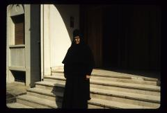 Thumbnail of Nikolje Monastery -- A nun from Nikolje monastery