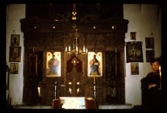 Thumbnail of Topola -- Birth of the Theotokos church -- interior, altar