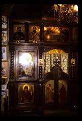 Thumbnail of Joanje Monastery, church interior -- ikonostas, right side