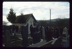 Thumbnail of Nikolje Monastery -- St. Lazarus cemetery church and the cemetery