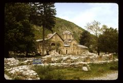 Thumbnail of Peć monastery -- Church and medieval ruins