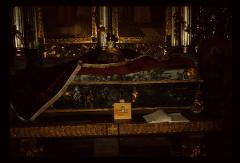 Thumbnail of Vrdnik monastery -- Interior -- collection box for church renovation