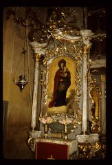 Thumbnail of Jazak monastery -- interior, the Theotokos  with child