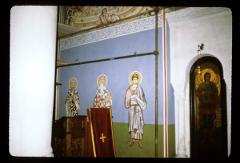 Thumbnail of Vavedenje, church interior -- frescoes