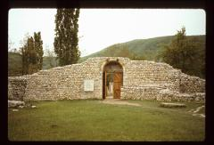 Thumbnail of Entrance gate - walled ruins
