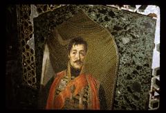 Thumbnail of Topola -- Oplenac Hill -- Karađorđe portrait/mosaic in St. George Church/mausoleum