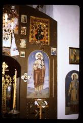 Thumbnail of Holy Trinity monastery, church interior -- ikonostas, left side