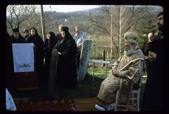 Thumbnail of Nikolje Monastery -- Bishop Stefan during the St. Lazarus day service