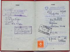 Thumbnail of Temporary Travel Document for stateless persons and persons of undetermined nationality: Alexandra Klaudia Melnyk (nee Alexandra Klaudia Yezerska)