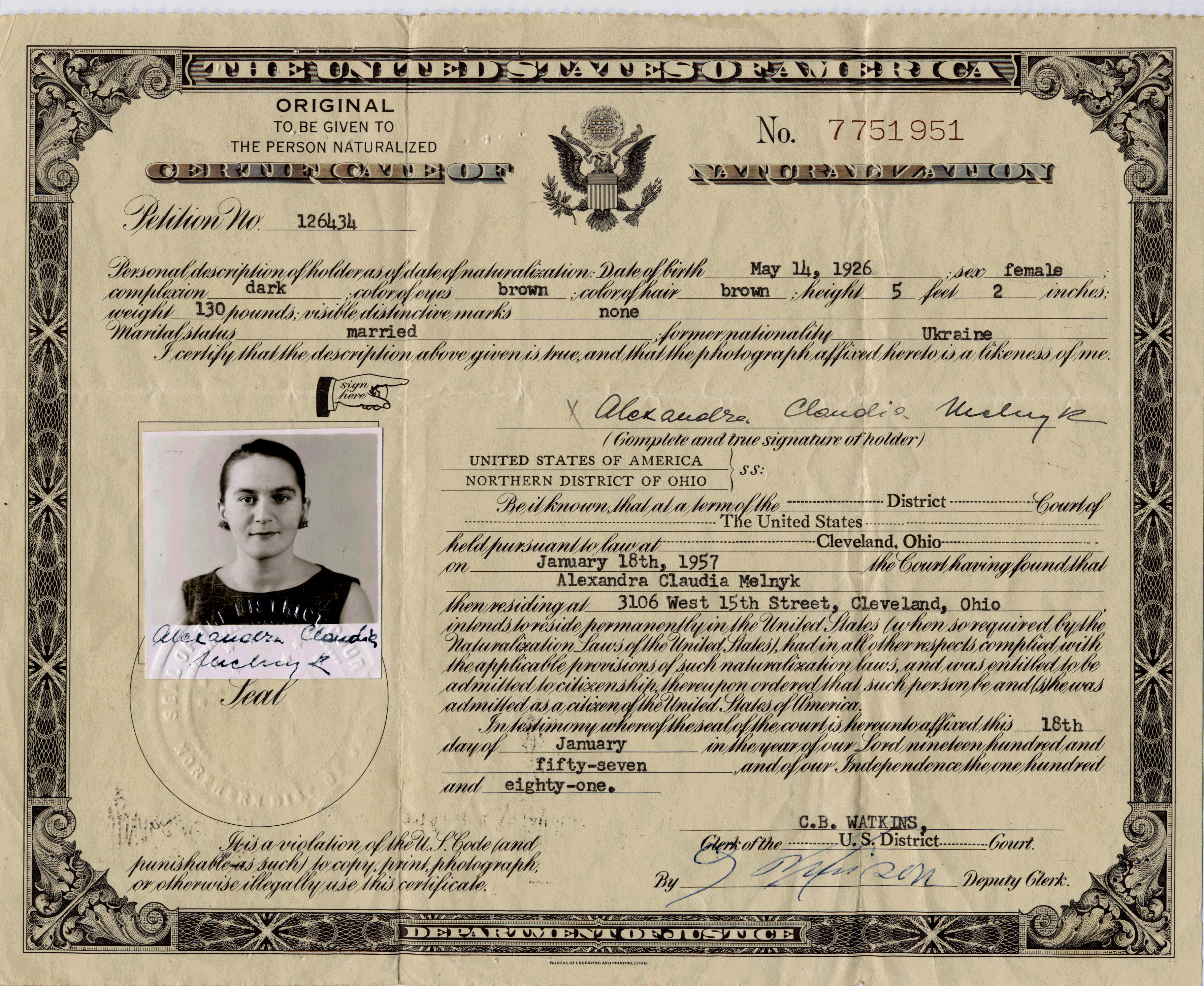 Naturalization certificate number location best design naturalization certificate number location 1betcityfo Image collections