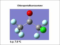 Thumbnail of THE SHAPES OF CHLOROPENTAFLUOROACETONE AND 1,3-DICHLOROTETRAFLUOROACETONE IN THE GAS PHASE
