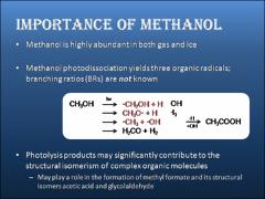 Thumbnail of METHANOL PHOTODISSOCIATION BRANCHING RATIOS AND THEIR INFLUENCE ON INTERSTELLAR ORGANIC CHEMISTRY