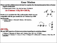 Thumbnail of CHIRALITY OF AND GEAR MOTION IN ISOPROPYL METHYL SULFILE: A FOURIER TRANSFORM MICROWAVE STUDY