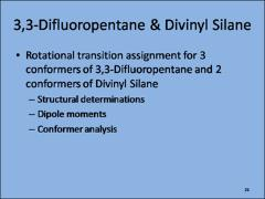 Thumbnail of A 480 MHz CHIRPED-PULSE FOURIER-TRANSFORM MICROWAVE SPECTROMETER: CONSTRUCTION AND MEASUREMENT OF THE ROTATIONAL SPECTRA OF DIVINYL SILANE AND 3,3-DIFLUOROPENTANE