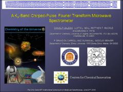 Thumbnail of A K$_{A}$-BAND CHIRPED-PULSE FOURIER TRANSFORM MICROWAVE SPECTROMETER