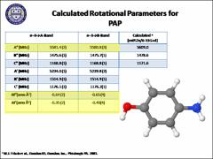 Thumbnail of ROTATIONALLY RESOLVED STUDIES OF $PARA$-AMINOPHENOL AND ITS COMPLEXES