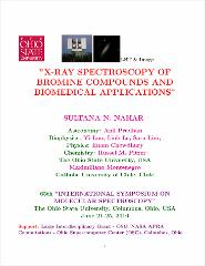 Thumbnail of X-RAY SPECTROSCOPY OF BROMINE COMPOUNDS AND BIOMEDICAL APPLICATIONS