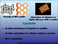Thumbnail of STARK SPECTRUM SIMULATION  OF $X_2Y_4$ ASYMMETRIC MOLECULES: APPLICATION TO ETHYLENE IN A MFI-TYPE HOST ZEOLITE