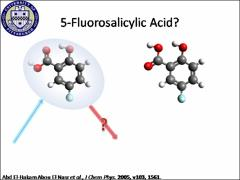 Thumbnail of GAS PHASE ELECTRONIC SPECTROSCOPY OF 5-FLUOROSALICYLIC ACID