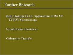 Thumbnail of TWO-DIMENSIONAL CHIRPED-PULSE FOURIER TRANSFORM MICROWAVE SPECTROSCOPY: INTRODUCTION TO TWO-DIMENSIONAL BROADBAND TECHNIQUES