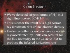 Thumbnail of CONSTRAINING THE FLUX OF LOW-ENERGY COSMIC RAYS ACCELERATED BY THE SUPERNOVA REMNANT IC 443