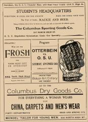 Thumbnail of OSU Football Program: September 24, 1904