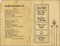 Thumbnail of OSU Football Program: October 15, 1904