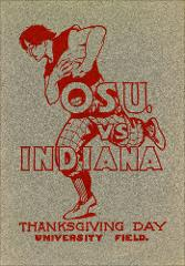 Thumbnail of OSU Football Program: November 30, 1905