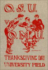 Thumbnail of OSU Football Program: November 29, 1906