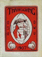 Thumbnail of OSU Football Program: November 28, 1907