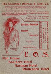 Thumbnail of OSU Football Program: October 24, 1908