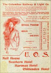 Thumbnail of OSU Football Program: November 21, 1908