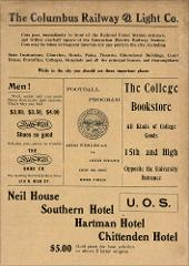 Thumbnail of OSU Football Program: October 23, 1909