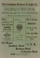 Thumbnail of OSU Football Program: November 13, 1909