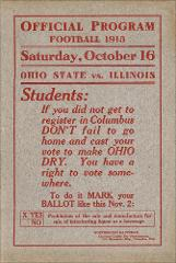 Thumbnail of OSU Football Program: October 16, 1915
