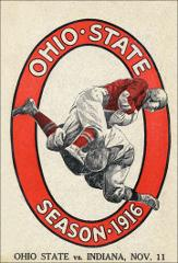 Thumbnail of OSU Football Program: November 11, 1916