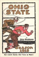 Thumbnail of OSU Football Program: October 5, 1918